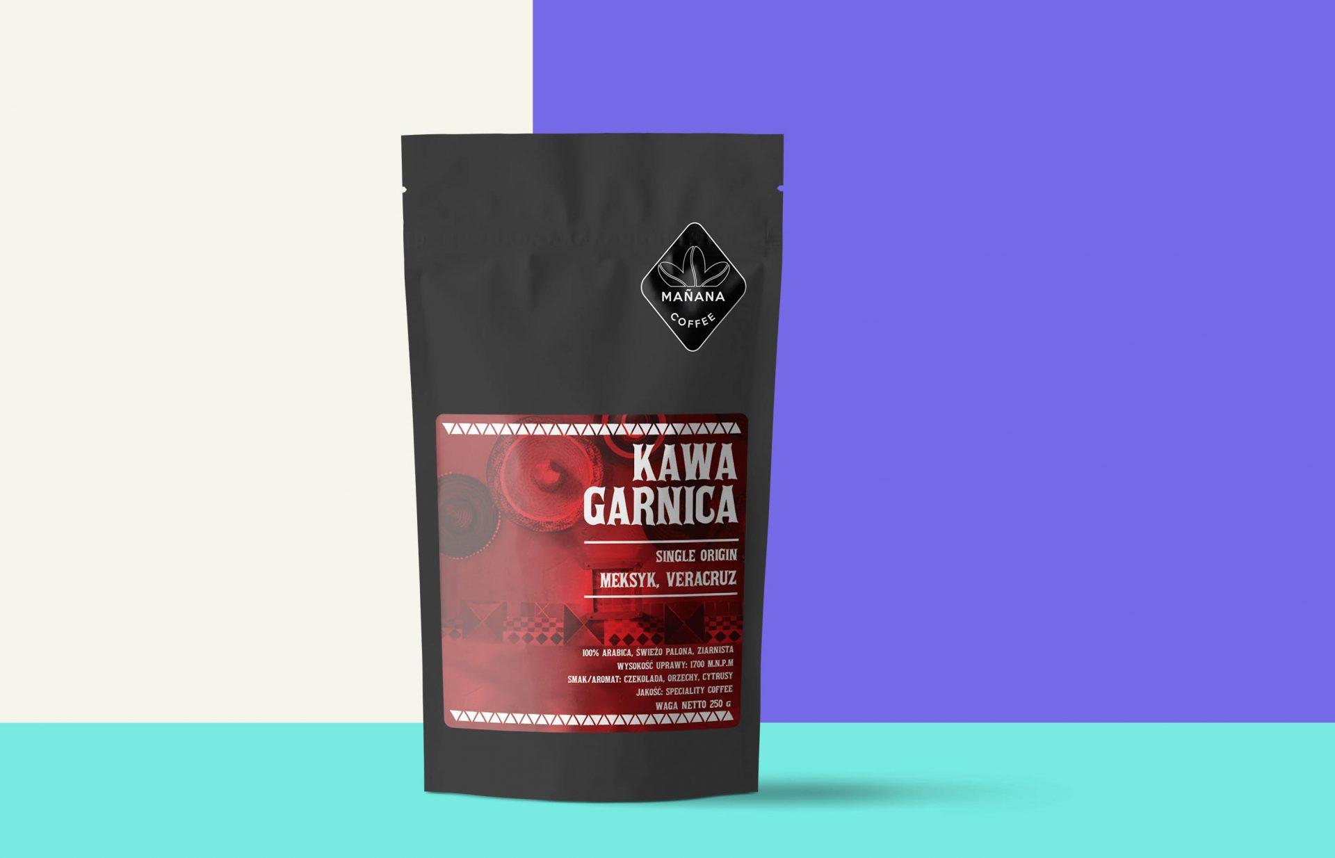 Manana caffee packing